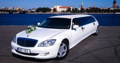 Mercedes S-class Limo Super Stretch WT