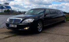 Mercedes S-class Limo Super Stretch BK